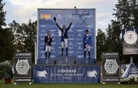 Martin Fuchs winner of the Longines Global Champio