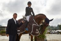 Beatriz Tamarit and Vertu D'ellipse, victorious co