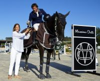 Ivan Serrano first place in the Massimo Dutti Trop